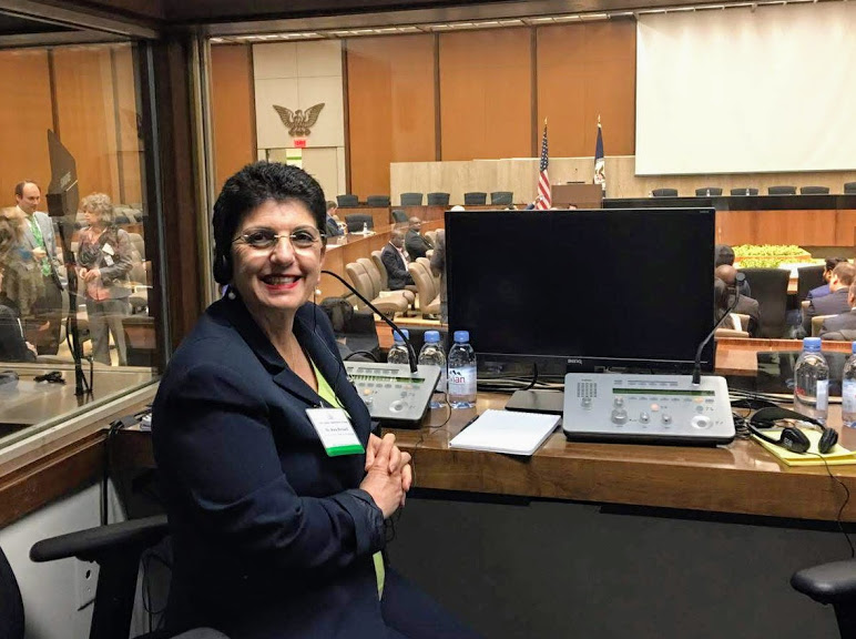 Rosa at United Nations