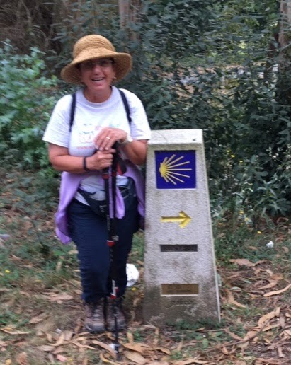 Rosa on Camino de Santiago (1)
